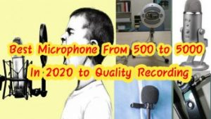 Best Mic For Youtube VideosFrom 500 To 5000