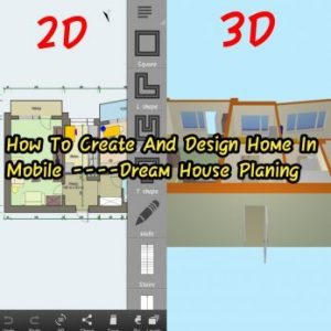 How To Create And Design Home In Mobile