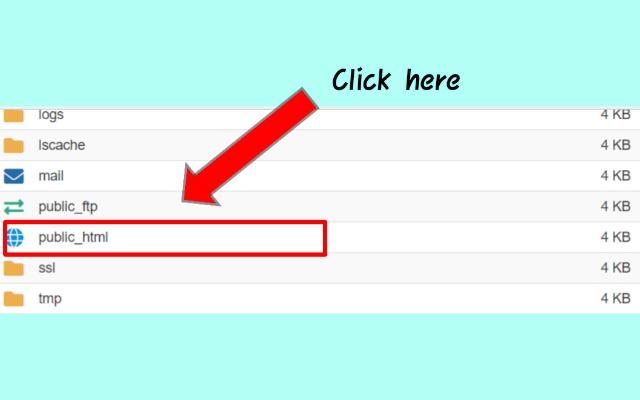 error in website
