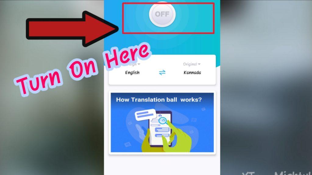 English To Kannada Translation