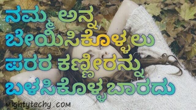 best Kannada status