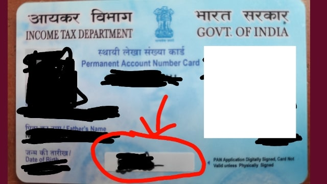 Adsense Identity Verification Without Signature In Pan Card Valid?