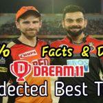 Bangalore vs Hyderabad  Dream11 Prediction Match 52
