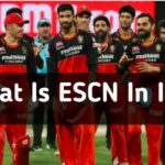 What Is ESCN Meaning In IPL Cricket From RCB Fans 2021