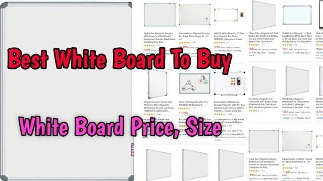 best white board white board size